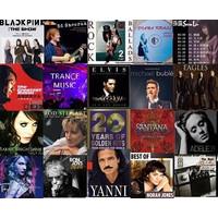 lagu audiophile flac, wav , dsd dalam hardisk 8TB - (8000 album)