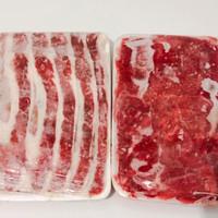 Paket bundling US beef Shortplate 500gram & Aus beef slice 500gram
