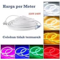 Neon Flex LED 220v Meteran - Socket