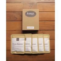 KoopiCoffee Drip box Coffee Arabica Flores Bajawa - 5 sachets