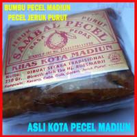 Sambal Pecel Bumbu Kacang Cap Daun Jeruk Purut 200gram Madiun - Sedang