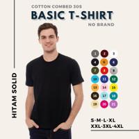 Kaos Pria Polos Premium Cotton Combed 30s T-shirt Distro Xl Xxl Xxxl