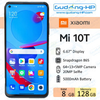 Xiaomi Mi 10T 8/128 GB Garansi Resmi