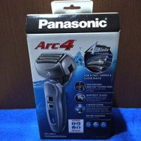 Panasonic Rechargeable Shaver Arc 4, 4 Blade cutting system ES-LA63-s