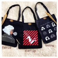 Totebag Canvas Startup by Octopus Project