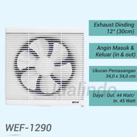 Exhaust fan Dinding 12 in Sekai WEF 1290 Kualitas Terbaik
