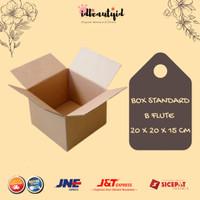 Kardus Box Polos - Karton Packing 20x20x15 cm