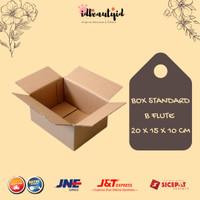 Kardus Box Polos - Karton Packing 20x15x10 cm