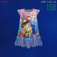 (DA2-2G) Daster Anak Frozen II Beautiful Dream Usia 5-9 Tahun