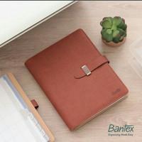 Buku Agenda Planner Cover Kulit Merk Bantex 7491