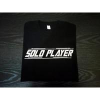 Kaos Baju Com Distro SOLO PLAYER game polos custom dota Mobile Legends