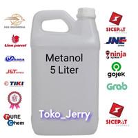 Metanol / Methanol / Pendingin Anti Beku / Bahan Sabun / 5 Liter