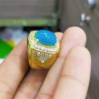 cincin batu bacan Doko majiko super 100% asli natural alam maluku
