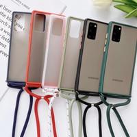 Samsung Galaxy A11 Soft Case Matte Lanyed + Tali Gantung