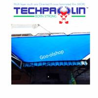 Terpal Waterproof 6 x 8 M Techpaulin