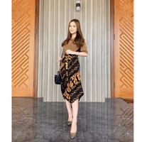 Baju Wanita Dress Batik Wanita Graduation Party Kebaya Imlek