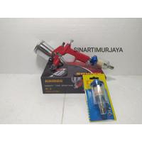 PAKET MURAH SPRAY GUN K3 TABUNG ATAS + AIR FILTER LIPPRO 1/4