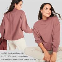 OLD NAVY 63 Mockneck Top Baju Atasan Wanita Branded
