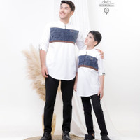 baju koko kurta couple/kapelan anak dan ayah fashion muslim terlaris