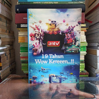 BUKU ORIGINAL ANTV 19 TAHUN WOW KEREEEN..! 2012 BEKAS