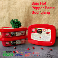 SAJO - Hot Pepper Gochujang Paste / Pasta Gochujang Korea 170 Gr