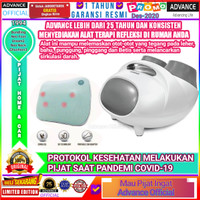 Alat Pijat Kaki Advance Neo Foot Dream2+Bantal Pijet Neo Neck Chusion3 - GREY DAN BROWN