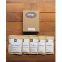 KoopiCoffee Drip box Coffee Arabica Toraja - 5 sachets