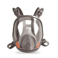 3M Masker full Face Mask Respirator 6800 NO CATRIDGE NO FILTER