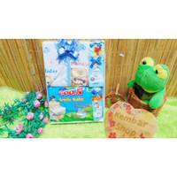 Paket Kado Bayi Newborn Baby Gift Box Diapers Pospak plus Setelan Bayi