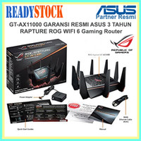 ASUS GT-AX11000 ROG Rapture Tri-band WiFi Gaming Router Ultimate