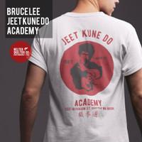 Kaos T Shirt Bruce Lee Jet Kun Do Retro Vintage Distro Pria - XL