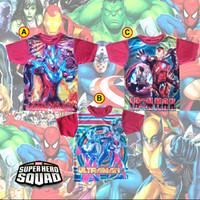 Baju anak karakter full print