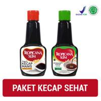 Paket Kecap Sehat: Tropicana Slim Kecap Manis 200ml + Kecap Asin 200ml