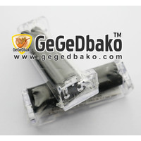 Handroller Arcylic 70 mm Bening - Putih Transparant GegeDbako