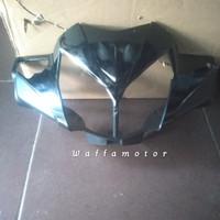 Batok kepala lampu depan supra x 125 new batman hitam