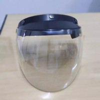 Face shield bahan polycarbonate ready stock