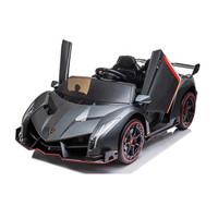 Mainan Mobil Aki Lamborghini Veneno Lisensi ban karet