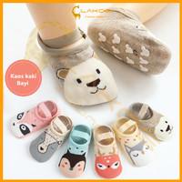 LAKOE kaos kaki bayi ankle dengan strap /Sepatu kaos kaki bayi bahan k