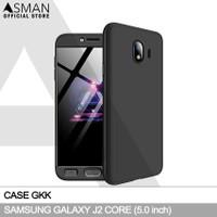 GKK Samsung Galaxy J2 Core (5.0) | Hardcase Full Cover - Hitam