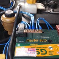 kabel ground mobil 5titik kabel nyaf 6mm master auto