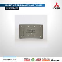 MK428824IDN Brake Lining FR (W= 120) / Kampas Rem Depan FM517