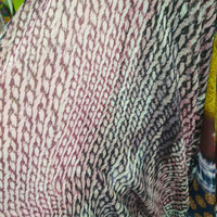 kain Ceruti motif/bahan blus/kain sifon Ceruti 1 meter