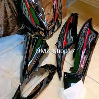 Full Body Halus Yamaha Mio Sporty Hitam+Striping