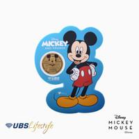 UBS ANGPAO 24K DISNEY MICKEY MOUSE 0.1 GR