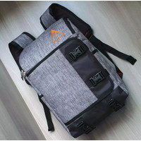 Tas Pria / Tas Laptop Size 17 Inchi /Backpack/Korean Style + Raincover