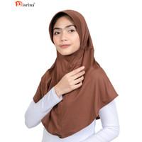 Nisrina Fashion Muslim Bergo Instan Polos Vens Q Husna