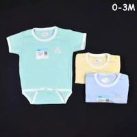 Miyo Jumper Bayi Newborn Baju Kodok Segitiga Warna 0-3 Bulan SNI