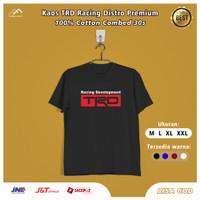 Kaos Baju T Shirt TRD Racing Otomotif Hell Start Original Mobil Motor - Hitam, M