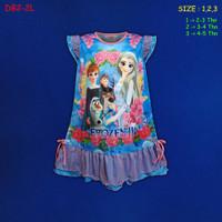 (DB2-2L) Daster Anak Frozen Beautiful Dream U 2-5 Tahun