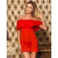 JX224R Red wine Lingerie Sexy Baju Tidur seksi Wanita Merah Anggur